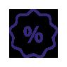 Discount symbol