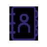 address book symbol